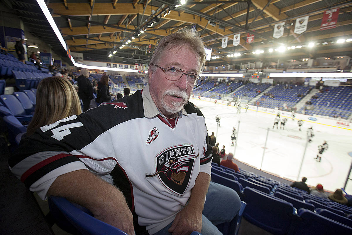 Devoted Vancouver Giants Fan Hits The Road With Hockey Team