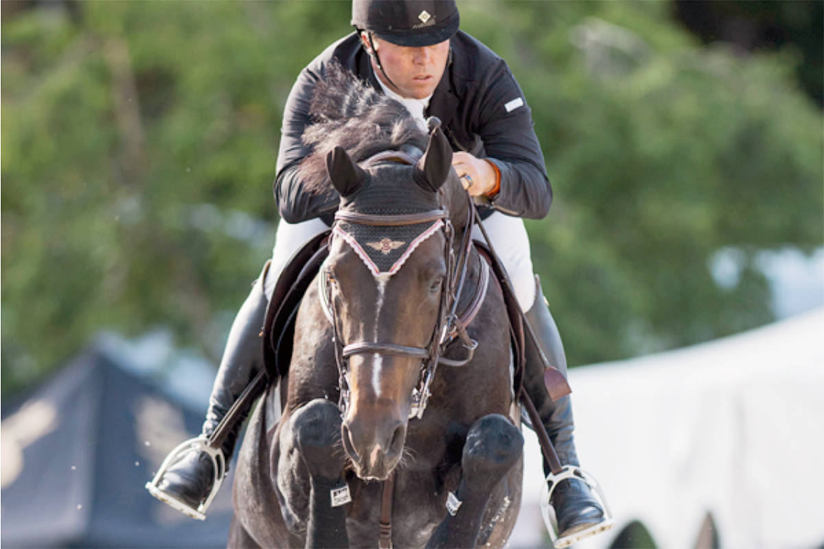 Why champion rider moved to Langley from the U.S.