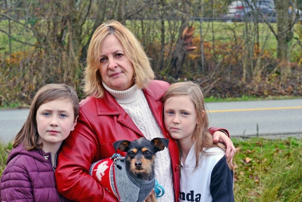 Falling tree crushes front of SUV carrying Surrey woman, granddaughters - Aldergrove Star