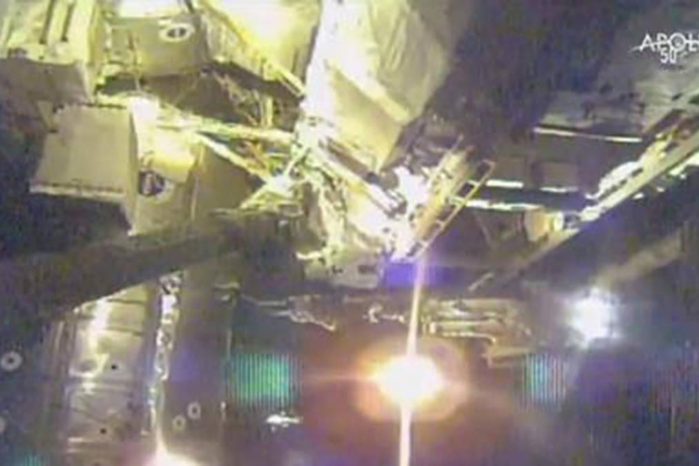Astronauts start spacewalk series to fix cosmic ray detector - Aldergrove Star