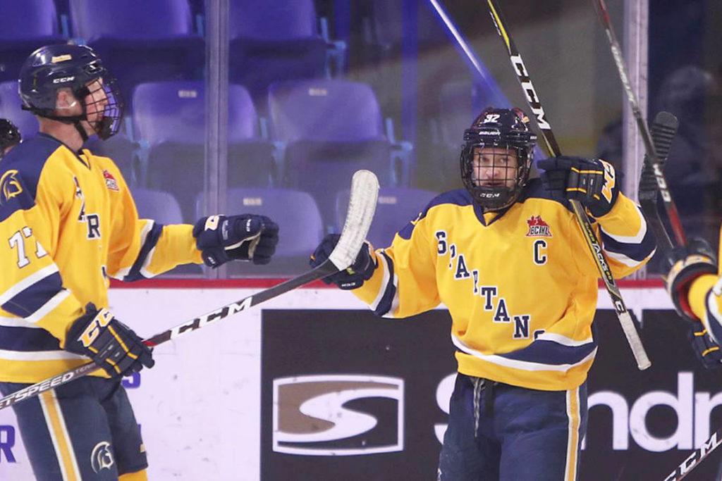 Trinity Western Spartans hockey team now has eight straight wins - Aldergrove Star