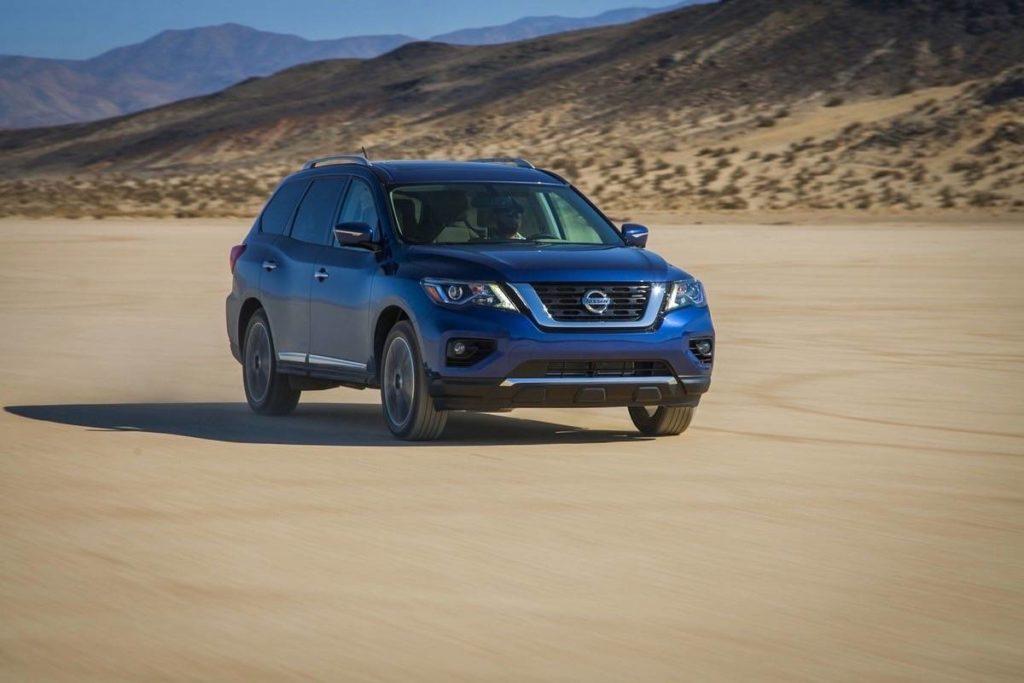 2020 Nissan Pathfinder keeps moving forward