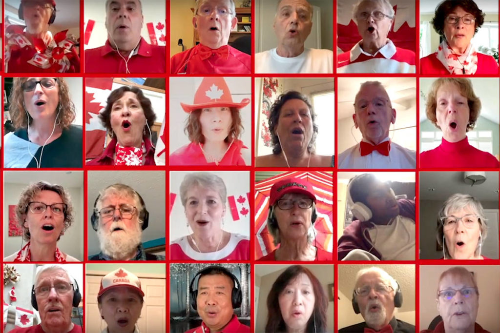 VIDEO: Canada Day celebrated with Zoom performance of national anthem - Aldergrove Star