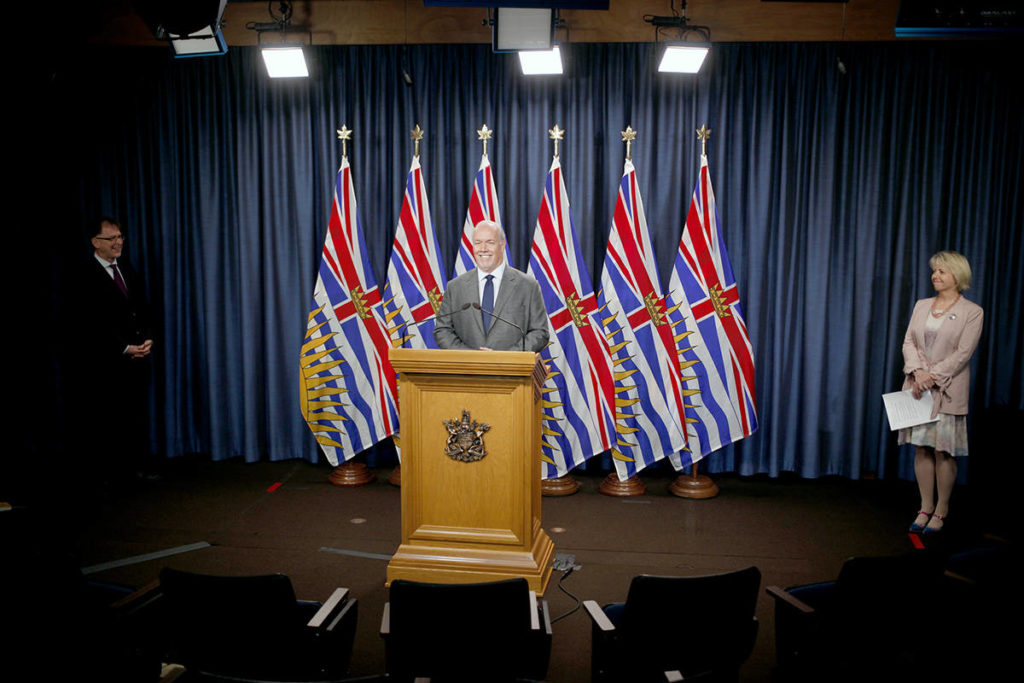 B.C. officials to provide details on Step 2 of COVID reopening plan Monday - Aldergrove Star